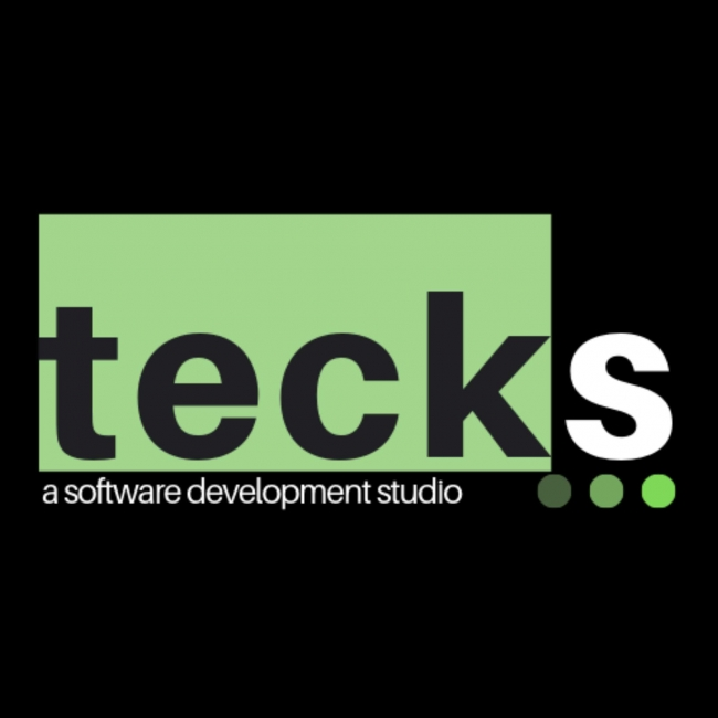 tecks black logo