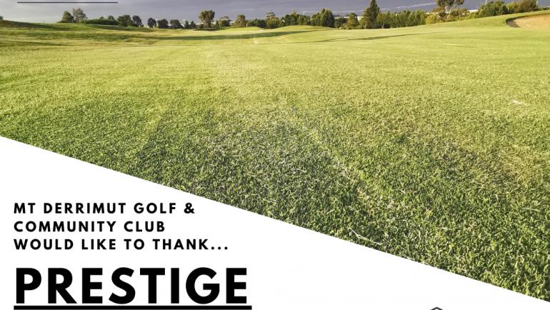 2020 Men's Sponsor: Prestige Grinding for Chase Morgan!