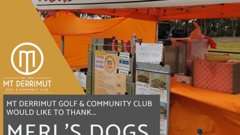 2020 Colt's Sponsor: Merl's Dogs for Jan Domingo!