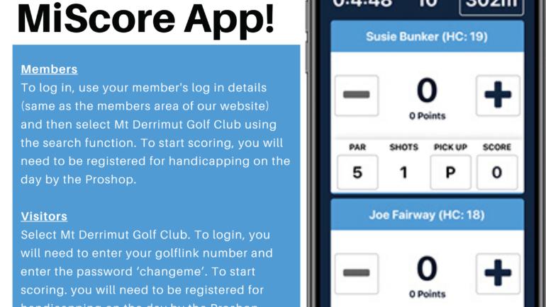 MiScore App