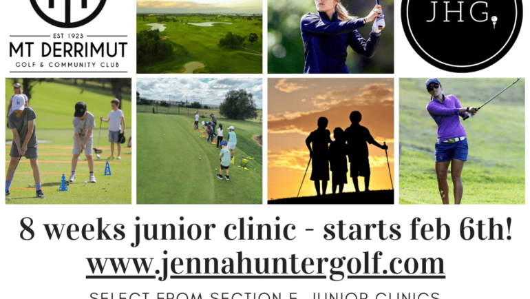 Junior Clinics – Starts Feb 6th!