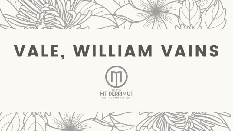 Vale William Vains